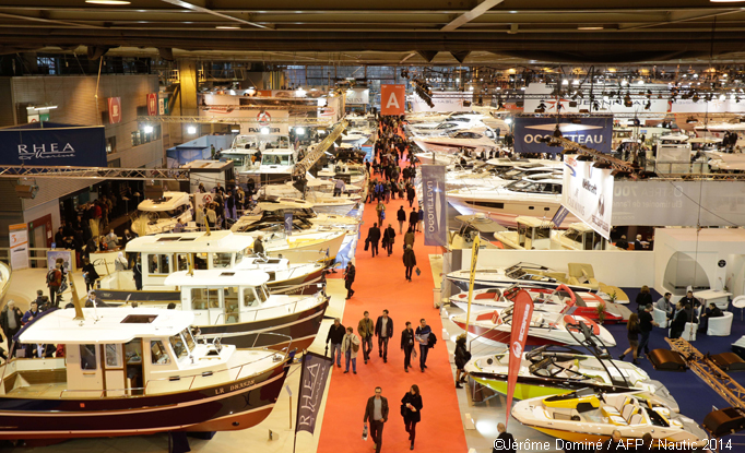 Le salon nautique international de paris le blog de jean for Salon bateau paris